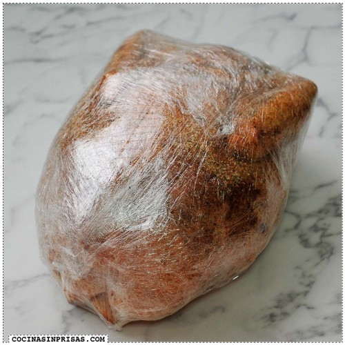 Cocina sin prisas - Pollo plastificado