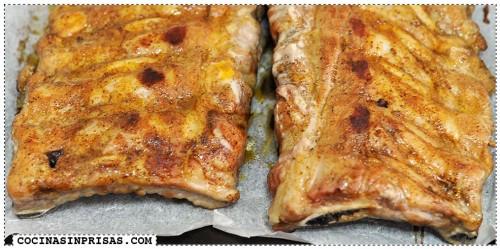 Slow cooke - Crockpot - Olla lenta - Costillas de cerdo a la barbacoa bbq