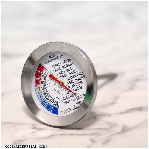 Cocina sin prisas - Termometro de horno