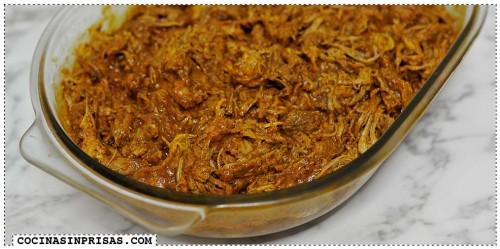 Cocina sin prisas - Slow cooker - Crock Pot - Tragaldabas profesionales - Cochinita puerco pibil