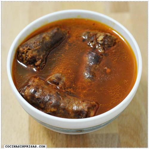 Cocina sin prisas - Cecina de chivo entrecallada - Chorizo y longaniza